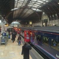 Photo taken at Platform 2 by Ben W. on 4/5/2012