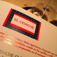 Photo taken at Ceviche by Federico B. on 2/20/2012