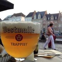 Photo taken at Restaurant De Graslei by Joeri B. on 8/18/2012
