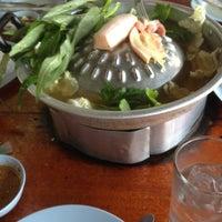 Photo taken at ร้านศรีปทุม หมูกะทะ-หมูย่างเกาหลี :-P by Tummarat K. on 4/13/2012