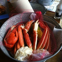 Photo taken at Joe's Crab Shack by Ashley K. on 4/1/2012