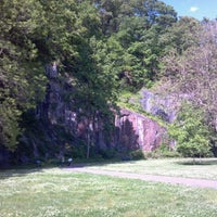 Photo taken at Alapocas Woods Park (Hiking Area) by Andrew G. on 5/11/2012