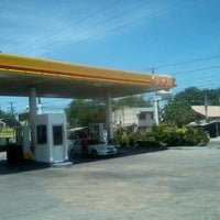 Photo taken at Shell by Neil D. on 3/10/2012