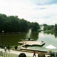 Photo taken at Parque de Los Lagos by Luis P. on 7/24/2012