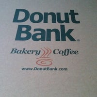 Photo taken at Donut Bank Bakery & Coffee Shop by Katy O. on 7/7/2012