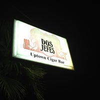 Photo taken at Dos Jefes Uptown Cigar Bar by Bryan D. on 5/16/2012
