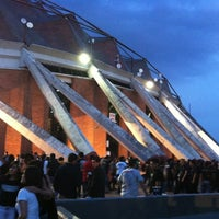Photo taken at Palacio de los Deportes by Rafael B. on 8/2/2012