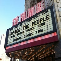 Photo taken at The Fillmore Detroit by Alan on 6/17/2012