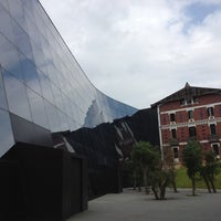 Photo taken at Cristóbal Balenciaga Museoa by Nuria B. on 7/14/2012