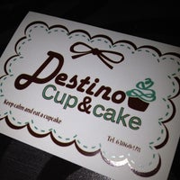 Photo taken at Destino Cupcakery by Dan K. on 5/6/2012