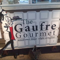 Photo taken at The Gaufre Gourmet by Stirls on 7/27/2012