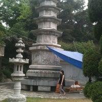 Photo taken at 보문사 (普門寺) by Changsik C. on 5/28/2012