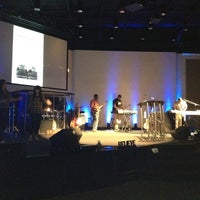 Photo taken at Redemption Point Church by Wilmari H. on 4/19/2012
