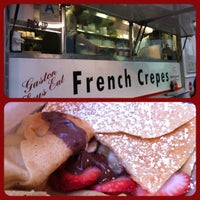 Photo taken at Crepes Bonaparte Truck by Candice C. on 5/1/2012