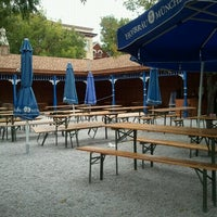 Photo taken at Hofbräuhaus Newport by Jayne E. on 8/16/2012