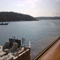 Photo taken at Orcas Island Ferry Terminal by John T. on 7/10/2012