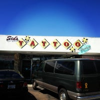 Photo taken at Sid's Tattoo Parlor by saintshane on 8/25/2012