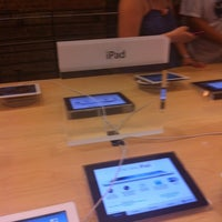 Photo taken at Apple Store (Temp Location) by Bella C. on 7/7/2012