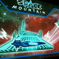 Photo taken at Space Mountain by haru on 3/11/2012