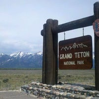 Photo taken at Grand Teton National Park by Courtney Rose F. on 5/17/2012