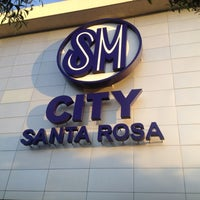 Photo taken at SM City Sta. Rosa by Jushua R. on 6/12/2012