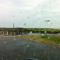 Photo taken at Town Neck Beach / Boardwalk by Candy J. on 6/25/2012
