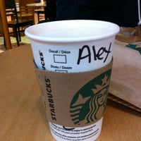 Photo taken at Starbucks by Alexandria I. on 3/2/2012