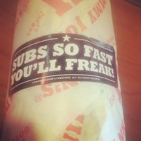 Photo taken at Jimmy John's by Victoria H. on 6/1/2012