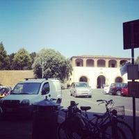 Photo taken at Piazza Santa Maria by Silvia on 8/21/2012