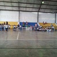 Photo taken at Ginasio de Esportes de Jaguaretama by Rogerio G. on 3/7/2012