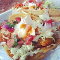 Photo taken at Tacos Baja Ensenada by Natalie J. on 5/20/2012