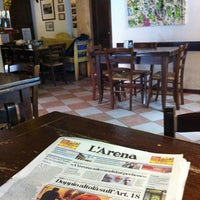 Photo taken at Osteria a la Carega by simopg71 on 3/17/2012
