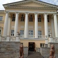 Photo taken at Дворец бракосочетания № 3 by Natali S. on 7/31/2012
