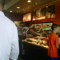 Photo taken at Bruegger's by Mindy S. on 6/10/2012