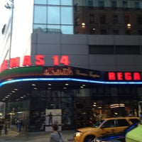 Photo taken at Regal Cinemas Union Square 14 by Shaba on 6/3/2012