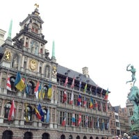 Photo taken at Antwerp City Hall by Yury S. on 9/11/2012