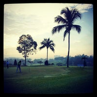 Photo taken at Danau Golf Club by fadzly j. on 4/7/2012