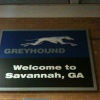 Photo taken at Savannah Greyhound Station by Donna W. on 8/7/2012