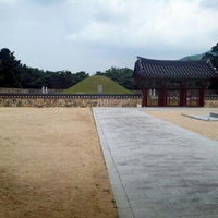 Photo taken at Tomb of King Suro by karistuck on 8/12/2012
