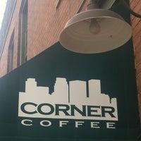 Photo taken at Corner Coffee by Jacob d. on 3/15/2012