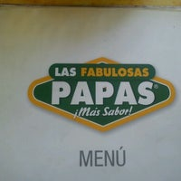 Photo taken at Las Fabulosas Papas by Alejandro A. on 7/21/2012