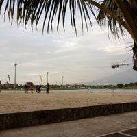 Photo taken at Camsur Watersports Complex (CWC) by Angelene U. on 3/18/2012