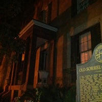 Photo taken at Sorrel Weed House - Haunted Ghost Tours in Savannah by Kevin on 3/11/2012