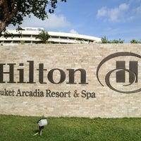 Photo taken at Hilton Phuket Arcadia Resort & Spa by Arthur C. on 5/21/2012