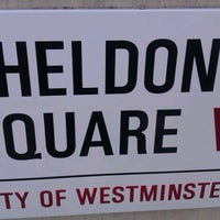 Photo taken at Sheldon Square by languageblock on 8/8/2012