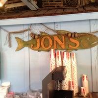 Photo taken at Jon's Fish Market by Derek B. on 5/28/2012