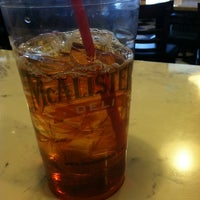 Photo taken at McAlister's Deli by Katie E. on 3/8/2012