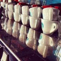 Photo taken at King Kong Coffee by Kris V. on 5/1/2012
