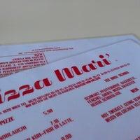 Photo taken at Pizzeria Mari' by philipp on 6/15/2012