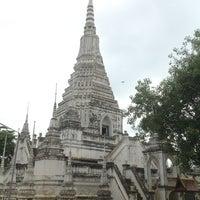 Photo taken at วัดวรจันทร์ by Chantana T. on 8/12/2012